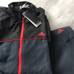 Adidas jacket and pants